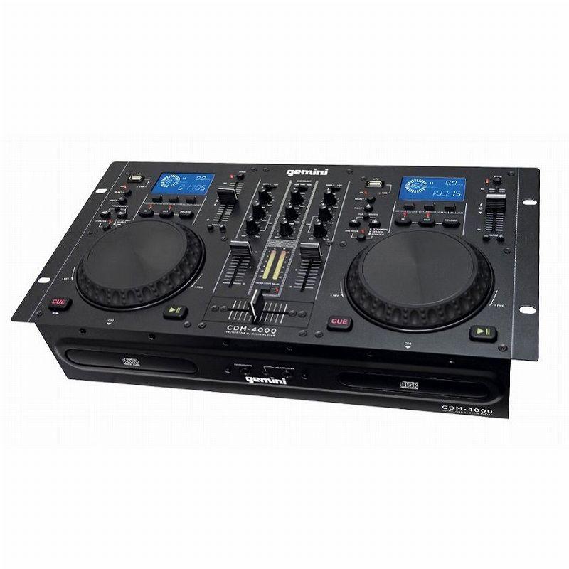 DJ機器, DJミキサー 2 GEMINI CDM-4000 CDJsmtb-TK