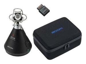 ZOOM H3-VR(Bluetoothアダプタ/BTA-1+専用キャリングバッグ/CBH-3付) 【送料無料】ズーム 360°Virtual Reality Audio Recorder ASMR配信などに 360度レコーダー【smtb-TK】