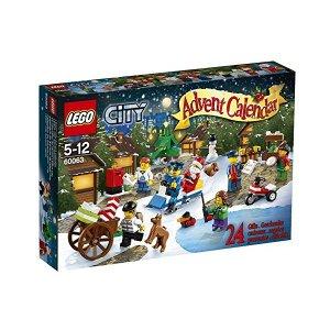 《LEGO》レゴ シティ アドベントカレンダー 60063【RCP】【楽ギフ_包装】