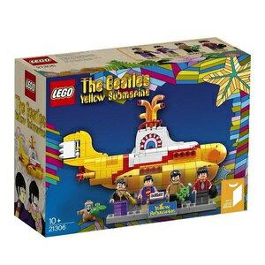 Lego主意YELLOW SUBMARINE 21306 Lego塊女人的孩子禮物男人的孩子禮物生日禮物LEGO塊