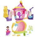 ディズニープリンセスリトルキングダムラプンツェルの塔の上のサロンプリンセスドール人形女の子プレゼント誕生日プレゼントクリスマスプレゼントタカラトミー