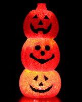 EVA3連パンプキン HW-1608 ハロウィンイルミネーション ハロウィン ライト ハロウィン 装飾 パンプキンライト パンプキン ランタン 仮装 ジャックオランタン 友愛玩具