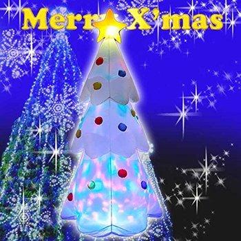 【送料無料】エアーディスコライトディスプレイ ツリー180cm WG-4513 クリスマス エアーディスプレイ 室内用 クリスマス ディスプレイ クリスマスイルミネーション クリスマス 電飾