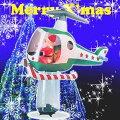 【送料無料】エアーディスプレー(LL)へリコプターWG-5553サンタクロースエアーディスプレイ室内用クリスマスディスプレイクリスマスイルミネーションクリスマス電飾