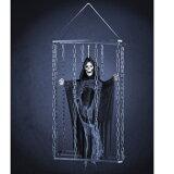 囚われリーパー HW-1350 ハロウィン装飾 死神 ハンギングデコレーション ハロウィン飾り 吊り飾り ホラーディスプレイ ゴースト スカル ハロウィン 装飾 仮装 友愛玩具