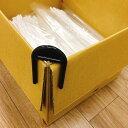 フラップクリッパー 4個入り ダンボールクリップ 箱詰め 梱包作……