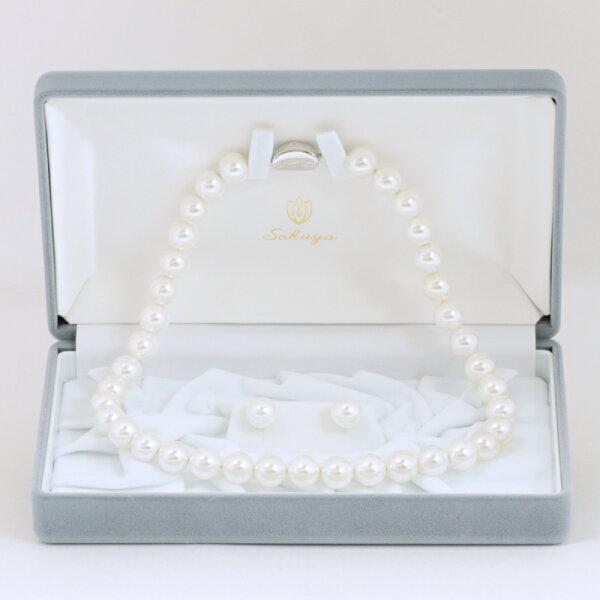 ラッピングカード パールネックレス冠婚葬祭真珠黒真珠フォーマルイヤリングピアスセットおすすめ結婚式パーティー葬式貝パールネック