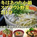 鍋2回分、朝食にサラダ!2日間で食べ切り!【送料無料】鍋におすすめ&サラダにヘルシースプラ...