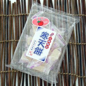 お餅みたいな寒天菓子寒天餅りんご・かりん【地元応援!サラダコスモ】