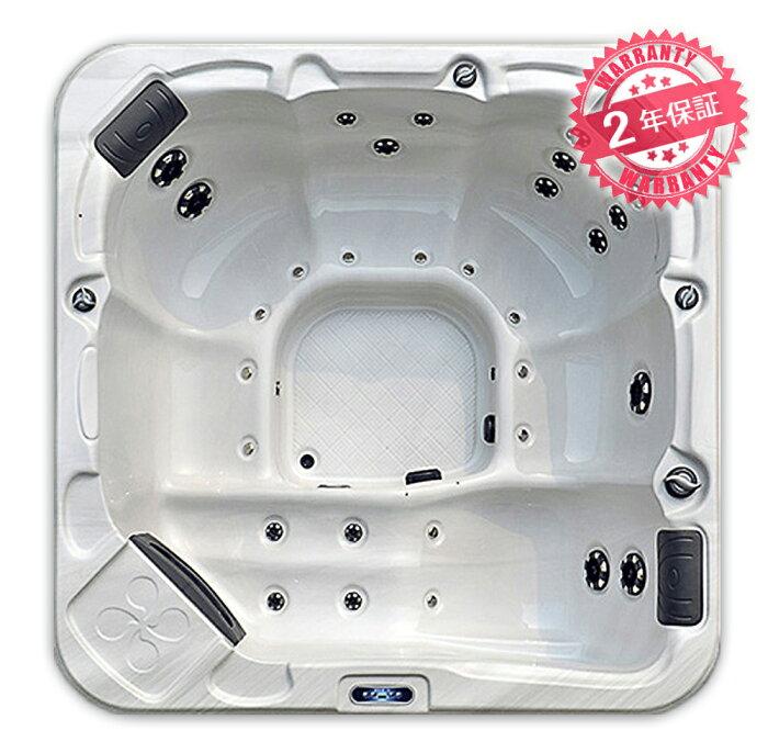 最安値で高品質ジェットスパ・サイズ:200x200x81h・6人用◆2年保証◆【P300】エステ、スパ、ホテル、ログハウス、エステテックサロンで設置されるジャグジースパ・ジャグジー・ジェットバス・ジャグジーバス・ジェットユニットバス・大型ジェット浴槽・大型ジェットお風呂