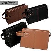 セカンドバッグ ビジネスバッグ バッグ 鞄 BAG 合皮 フェイクレザー 全4色 仕事用 通勤 カジュアル両用デザイン ブランド VenDome メンズ 紳士 バッグ