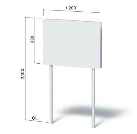 【楽天市場】「野立て看板(NECO-7)」表示加工費・デザイン料 ...