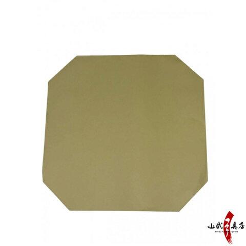 下貼り紙 尺二寸用 茶紙 10枚セット弓道 弓具 弓道用品 的紙