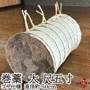 巻藁 大 尺五寸 ゴザ仕様 まきわら 直径約50cm 商品番...