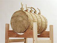 弓道 小型巻藁(こがたまきわら)
