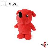 チーバくん ぬいぐるみ LLサイズ赤 犬 かわいい 手触りふわふわ チーバくんグッズ ちーば君 千葉県 ゆるキャラ チーバ君 ご当地 誕生日 プレゼント L-104