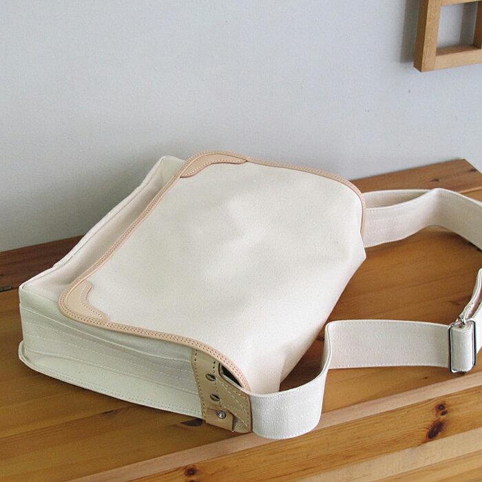 【訳あり・特別価格】[かばん職人作り]の帆布製肩掛けカバンHK3
