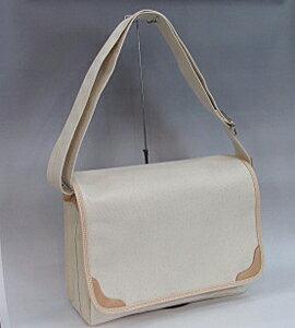 [かばん職人作り]の帆布製肩掛けカバンHK3【送料・代引料無料】 【RCP】