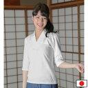 女性用Tシャツ半襦袢七分袖(S-L)
