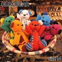 KOKOBEAR ココベア ココペリ レッド ホワイト オレンジ ワインレッド ブルー グリーン Mサイズ 人形 ターコイズ ネイティブ 0601楽天カード分割