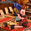 【Kokopelli】 ココペリ インディアン ガール チーフ Mサイズ ドール 人形 雑貨 インテリア ハンドメイド 0601楽天カード分割