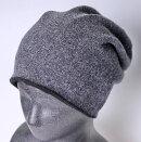 カシミヤ100%リバーシブルメンズニット帽