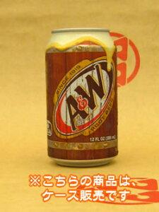 【A&W ルートビア(ケース:24缶入)】