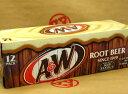 【A&W ルートビア(1ダース:12缶入)】輸入品の為ご案内なくパッケージが変更することがございます。