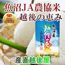【30年産 新米 コシヒカリ 魚沼産】新潟県 魚沼産 越後の...