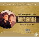 【送料無料・営業日15時までのご注文で当日出荷】(新品CD) エヴァリー・ブラザーズ The Very Best Of EVERLY BROTHERS Original Greatest Hit SICD-08006