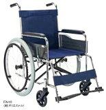 【法人宛送料無料】[マキテック] EX-10 EX-10B 車椅子 自走式 標準タイプ エアータイヤ仕様 背固定 スチール製 リーズナブル ポリエステル/ビニールレザー 座幅42cm 耐荷重100kg MAKITECH