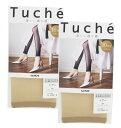 日本製 GUNZE Tuche 同色2足組グンゼ トゥシェ シアーストッキング10分丈レギンス THF89D