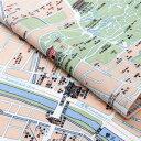 河原町地図 手ぬぐい / 手拭い てぬぐい お土産 ギフト 京都 さんび 日本製