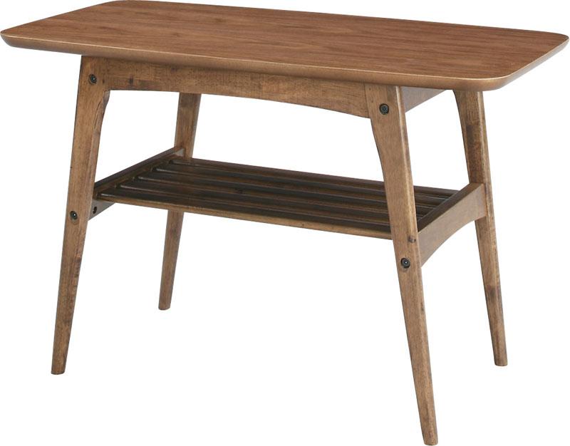 H48㎝木製リビングテーブル コーヒーテーブル AZTAC-227WAL