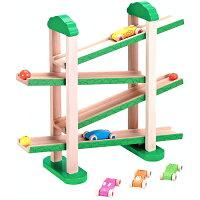 Ed.interエドインター森の運動会ボール転がしスロープ車木のおもちゃ知育玩具出産祝い806449E20-215-03