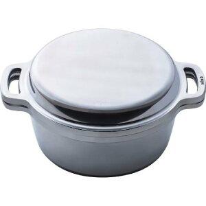 18cm両手鍋IH直火両用対応無水鍋無水調理万能のお鍋ハルムスイKING無水鍋18cm