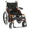 ・電動走行(手動・自動切替可能)・自走式(ハンドリム付き)での介助兼用ジョイスティック操作車椅子 電動車椅子e-Economyマキテック 車いすKEY-01
