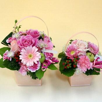 カラーで選ぶ季節のお花のアレンジメント!!大きさM・S
