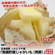 北海道より産地直送 JAとうや湖 雪蔵貯蔵じゃがいも (男爵) Mサイズ 10キロ 芋 馬鈴薯