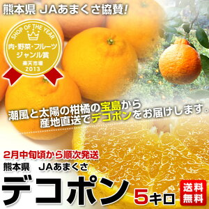 柑橘栽培の名門産地、JAあまくさより直送します。熊本県 JAあまくさ デコポン(2月中旬頃から順...