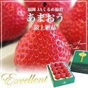 産地直送品!あまおういちご最上級品エクセレント 450g(12粒〜15粒)1箱3,300円