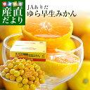 和歌山県より産地直送 JAありだ ゆら早生みかん 5キロ SからSSサイズ 蜜柑 ミカン 送料無料
