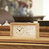 ポイント最大20倍!【Lemnos/レムノス】 FRAME フレーム 温湿度計付き置き時計