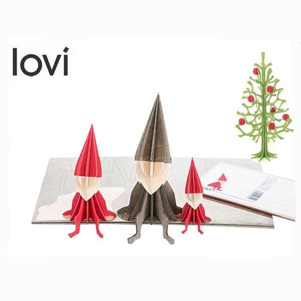 ポイント10倍!【lovi/ロヴィ】 LOVI ELF ロヴィ エルフ 8cm【クリスマス 卓上 北欧 かわいい フィンランド】