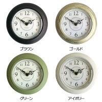 【PalaDec/パラデック】ChocolattempsAntiqueMiniClockショコラタンスタンド&ウォールクロック時計