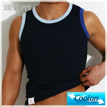 SLEEVELESS-NAVY-front