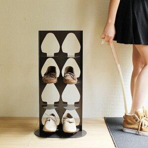 【選べる3色☆】【送料無料】商品名:SHOETOWER(シュータワー)4【靴箱】【玄関収納】【靴】【積み上げる】【デザイン雑貨】【玄関収納】【シューズラック】