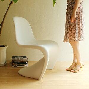 【選べる4色☆】【デザイナー:ヴェルナー・パントン】商品名:PANTONECHAIR(パントンチェア)プレミアム【復刻版:リプロダクト・ジェネリック】【ダイニングチェア】【樹脂】【PCチェア】【艶無し】【マット】【椅子】【CHER05】【CH7141】