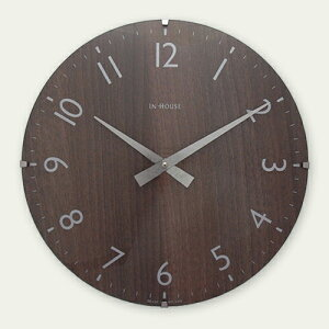 【送料無料】【ブランド:INHOUSEイギリス】商品名:ドームクロック【時計】【楽天】【通販】【英国製】【正規品】【壁掛け時計】