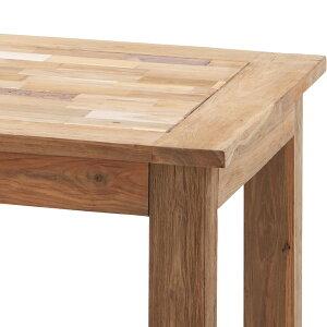 商品名:BONDINGダイニングテーブル【お洒落】【ナチュラル系】【パリ】【ヴィンテージ風】【木製】【天然木】【チーク】【ワイルド】【作業台】【カフェ】【センターテーブル】【楽天】【通販】